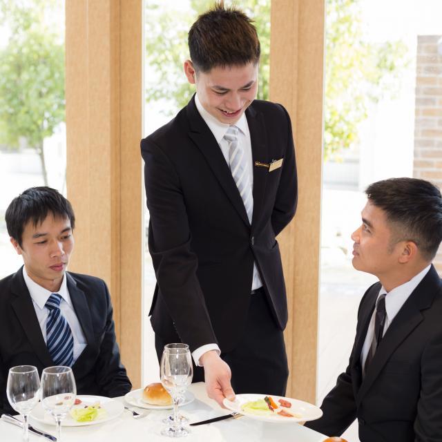YICビジネスアート専門学校 12/26(木)【ホテルブライダル】プロのサービススタイル!1