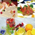 大阪調理製菓専門学校 ウエディングケーキ&3種のコース料理&フルーツカクテル