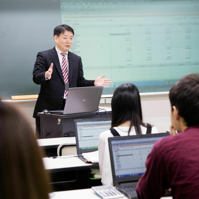 鹿児島情報ビジネス公務員専門学校 【事務・経理】オープンキャンパス2