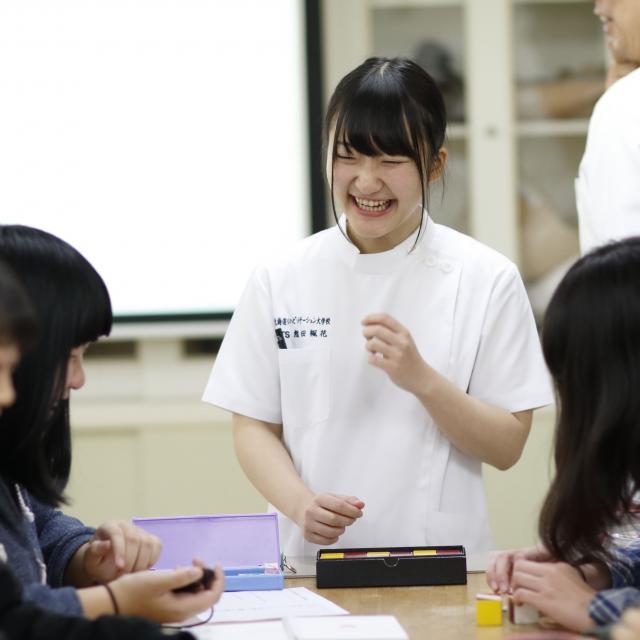 【理学療法学科】オープンキャンパス(宿泊便)