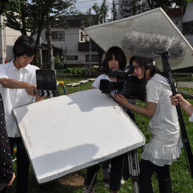 経専音楽放送芸術専門学校 初めての映像・スタジオ業界体験!テレビ制作スタッフ体験2