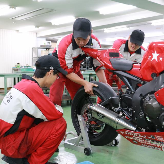 YIC京都工科自動車大学校 ~二輪自動車整備体験オープンキャンパス~2
