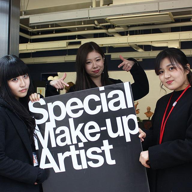 大阪デザイナー専門学校 はじめての特殊メイク講座【体験入学】1