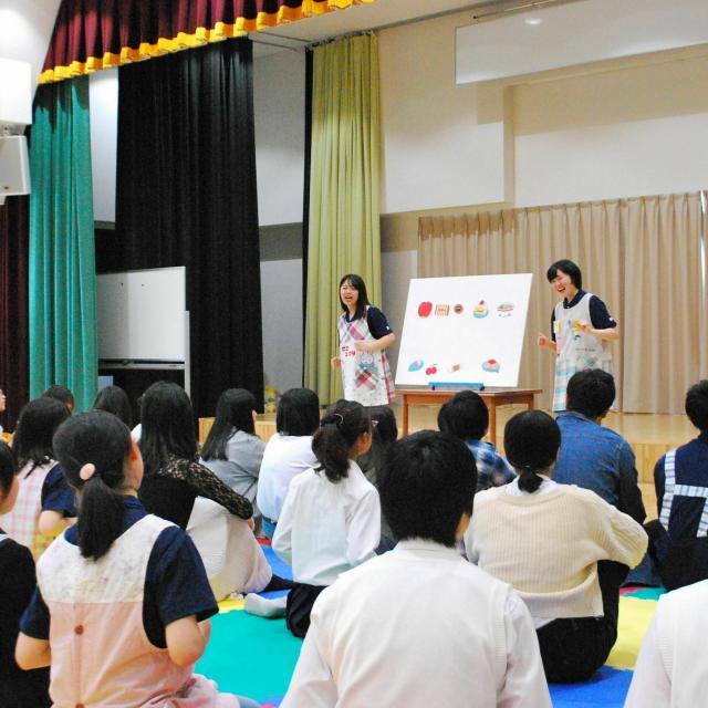 新潟中央短期大学 学生スタッフとの交流ワークショップは楽しさいっぱい!3
