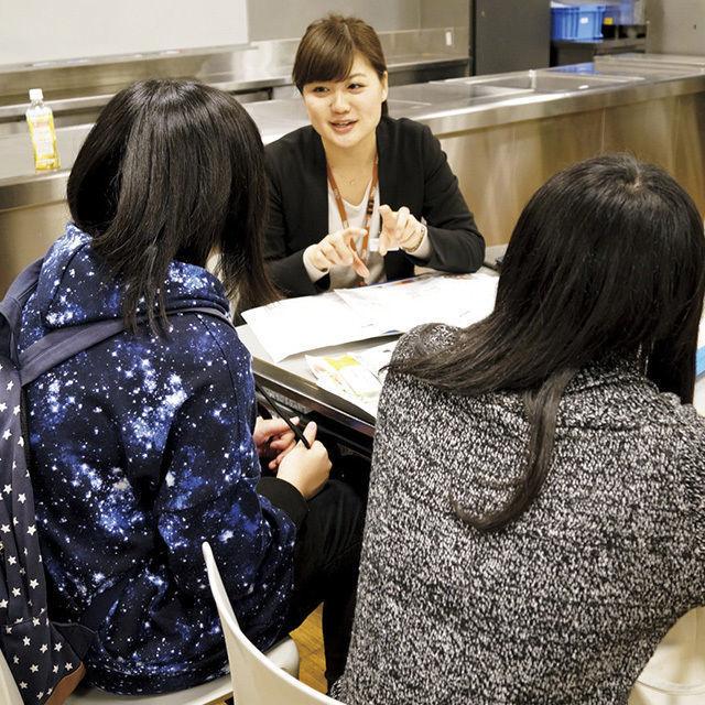 辻製菓専門学校 個別になんでも相談!「相談見学会」1