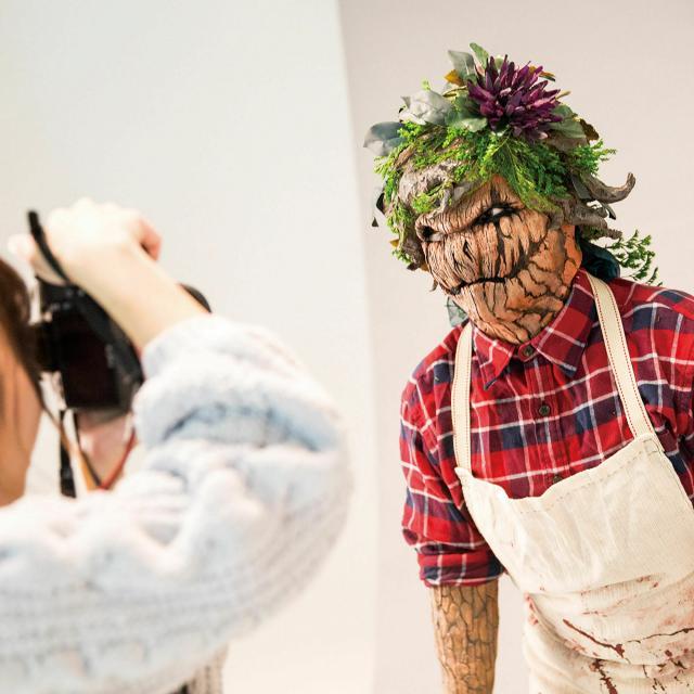 大阪デザイナー専門学校 【特殊メイク学科】AO入学説明会3