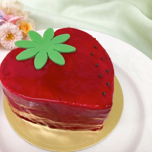 にいがた食育・保育専門学校えぷろん ホールケーキスペシャル☆ムースフレーズケーキとカルボナーラ1