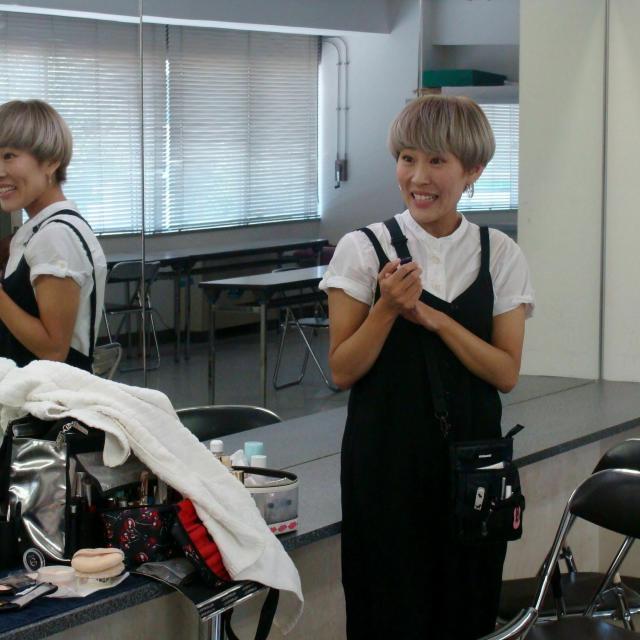 ファッション文化専門学校DOREME ☆☆ハロウィンプレスクール☆☆ハロウィンメイク実体験!1