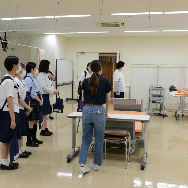 日本赤十字秋田短期大学 2021秋のミニオープンキャンパス4