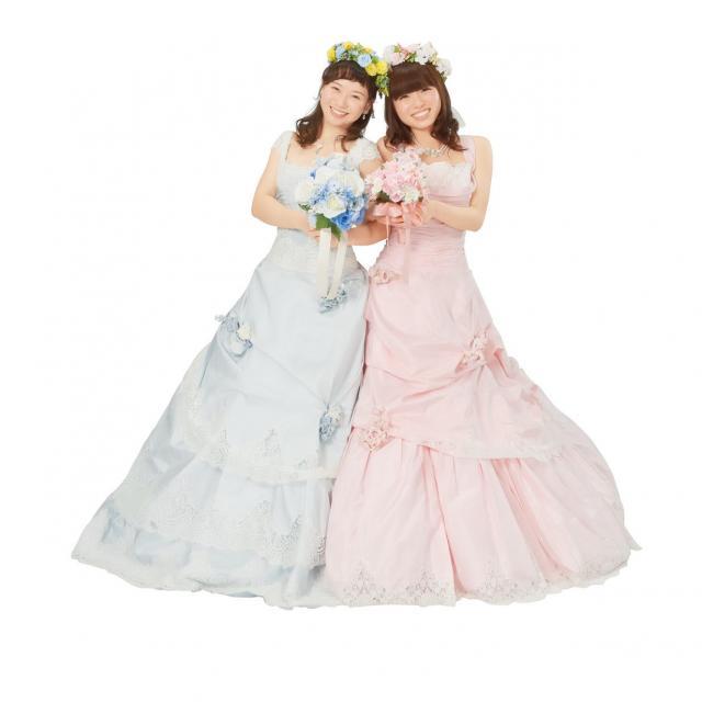 専門学校名古屋ウェディング&フラワー・ビューティ学院 人気ウェディングドレス試着2