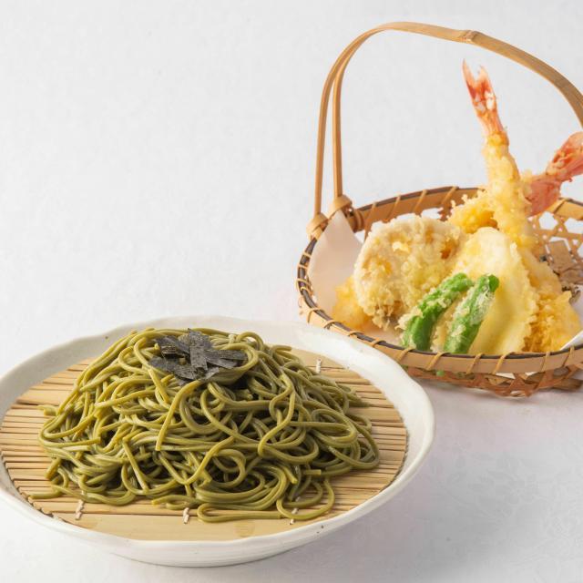 群馬調理師専門学校 【日本】天ぷら茶そば・茶碗蒸し1