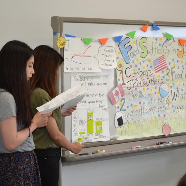 上智大学短期大学部 【6月29日(土)】在学生たちの英語の発表をみてみよう!1