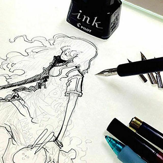 東京デザイナー学院 【マンガつけペン入門】プロが「つけペン」を直接レクチャー1