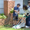 日本ガーデンデザイン専門学校 在校生が教える 芝生の管理方法
