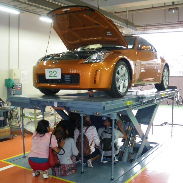 専門学校 第一自動車大学校 整備士への道はココからOpenCampus2017開催2