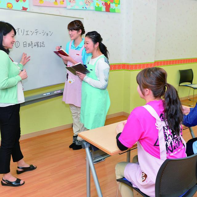 大原医療秘書福祉保育専門学校横浜校 体験入学☆こども系☆2