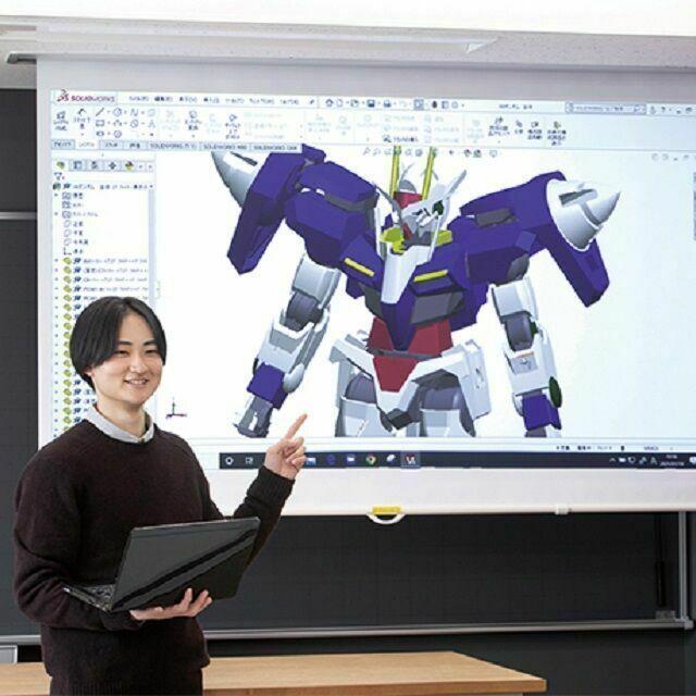 中央工学校 2021体験入学☆オリジナルパーツからプラモデルをつくろう!1