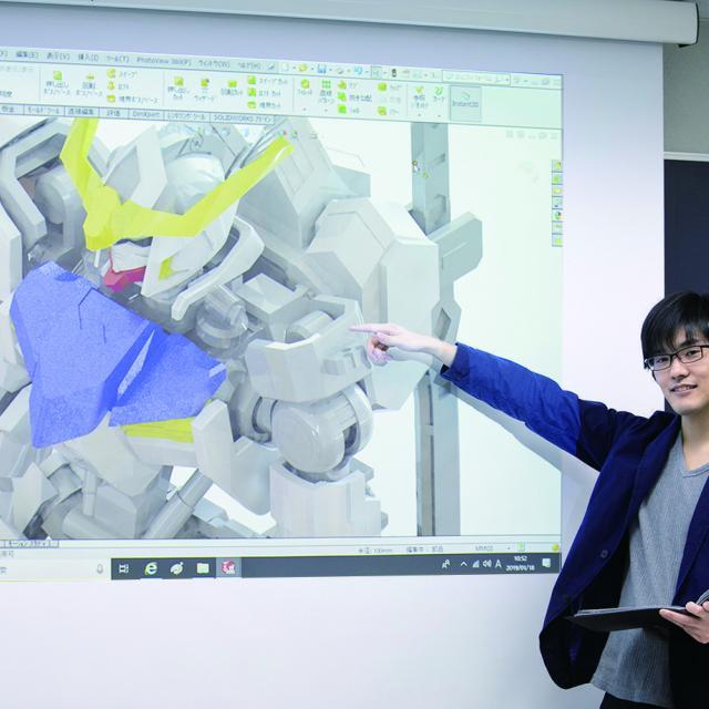 中央工学校 2019体験入学☆オリジナルパーツからプラモデルをつくろう!4