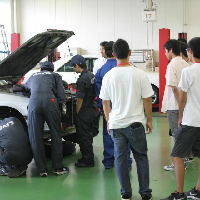 専門学校静岡工科自動車大学校 オープンキャンパス【授業公開】2