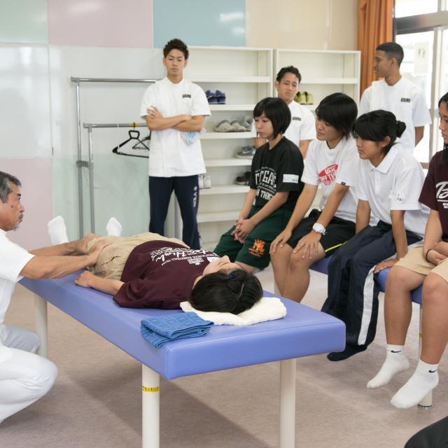スポーツ整体・メディカルトレーナー学科「手に職を付ける」