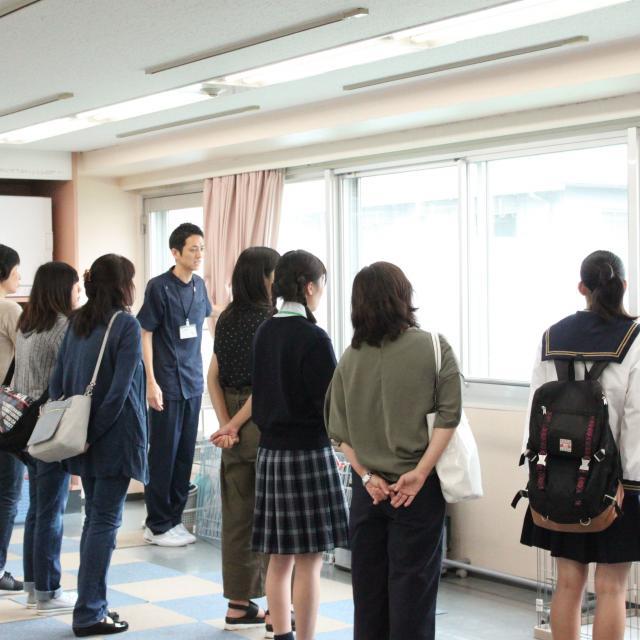 中央動物専門学校 新3年生対象体験入学4