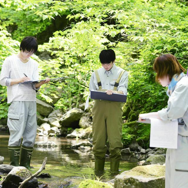 日本自然環境専門学校 環境調査・環境解析を学びたい!2