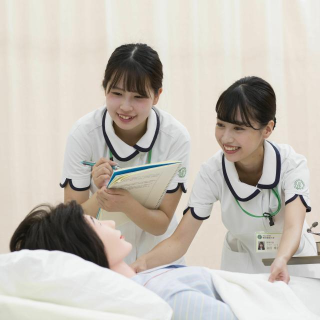 横浜創英大学 看護学部入試相談会1