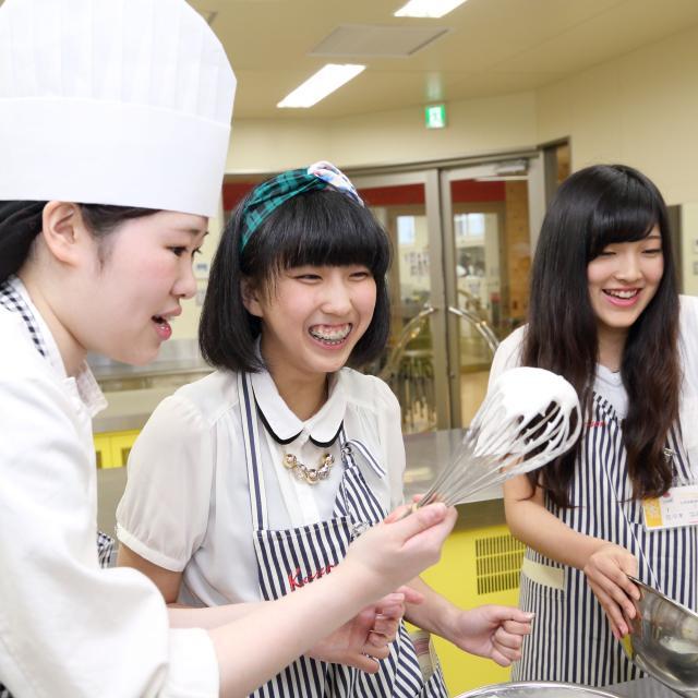 経専調理製菓専門学校 日曜日のオープンキャンパス♪1