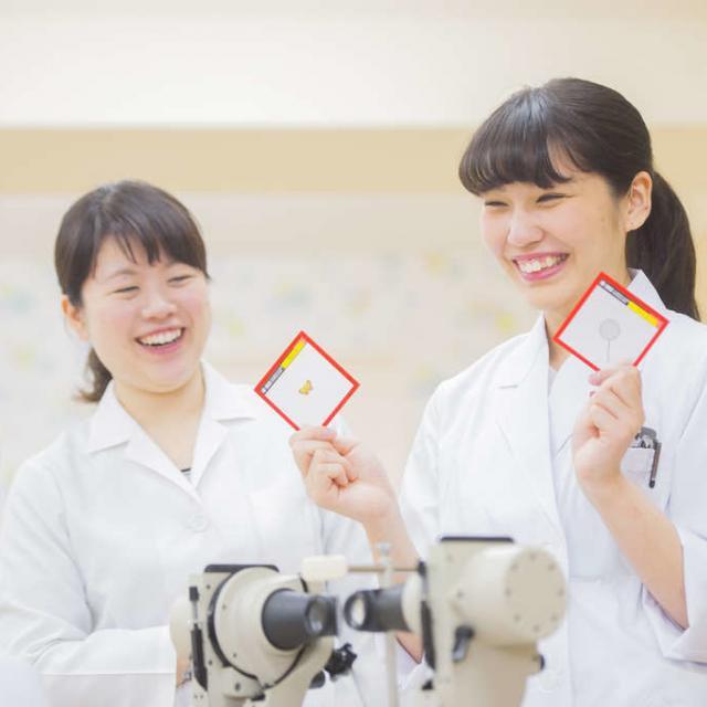 東京医薬専門学校 女性の人気職♪視力矯正・検査する視能訓練士を知ろう!2