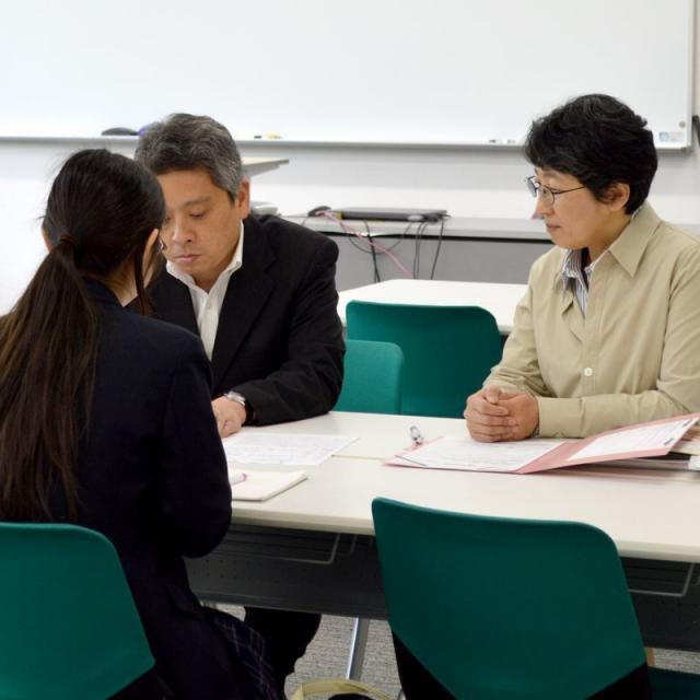 横浜創英大学 入試説明会1
