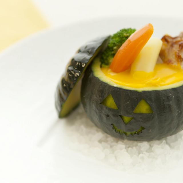 【調理体験】かぼちゃのシチュー