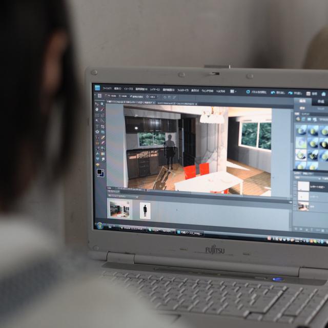 専門学校東京テクニカルカレッジ [建築科]半日体験~「住宅内のコーディネートに挑戦!」1