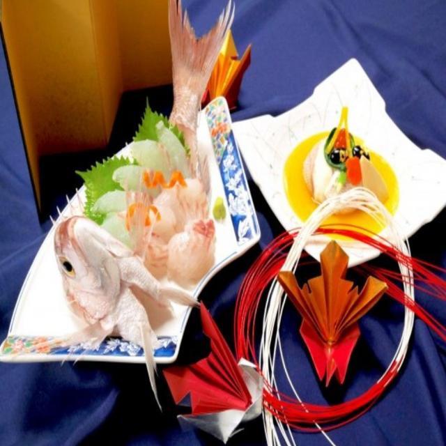 山手調理製菓専門学校 【日本料理】夏の贅沢お造り~鯛茶漬け~1