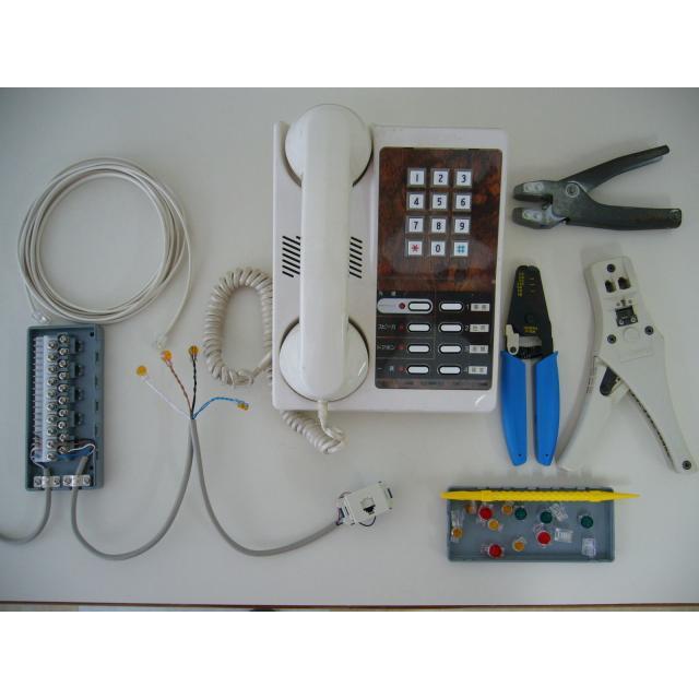 日本理工情報専門学校 体験イベント! 「電話配線」に チャレンジ!1
