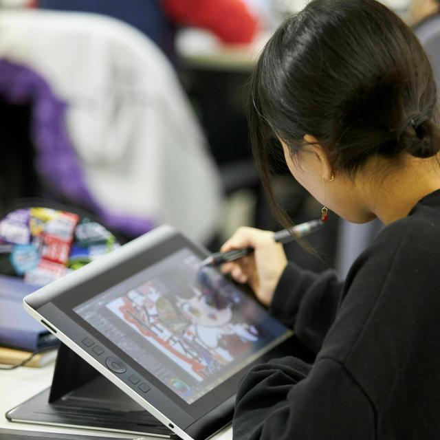 名古屋デザイナー学院 10月開催【マンガ学科】マンガ家・イラストレーターを目指せ!2