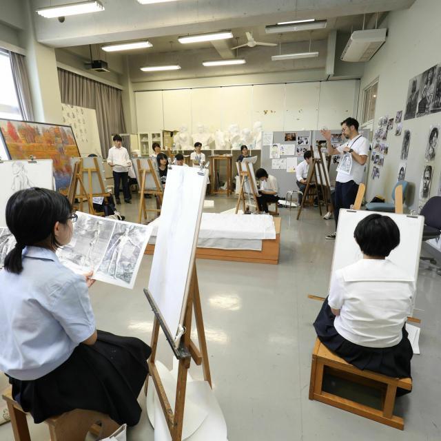 崇城大学 夏のオープンキャンパス 2021【芸術学部】1