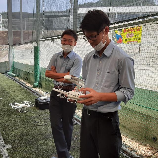 福岡国土建設専門学校 KOKUSEN DRONE SATELLITE1