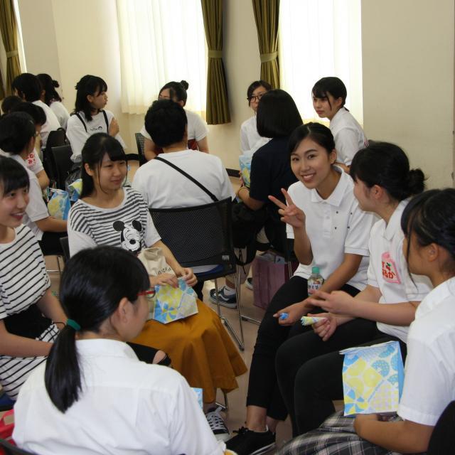 白鳳短期大学 オープンキャンパス4