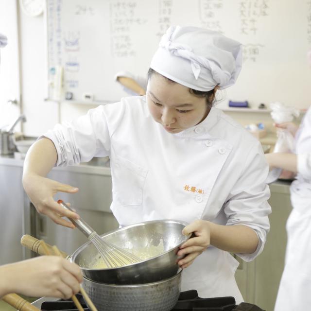 悠久山栄養調理専門学校 イベントスペシャル【バレンタイン】 -栄養士科ー2