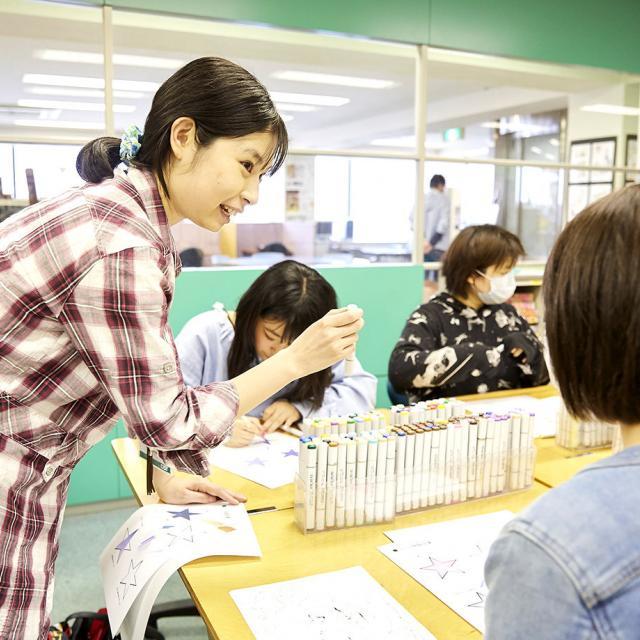 大阪アニメーションカレッジ専門学校 土日は体験授業へ♪保護者と参加もOK!プロの先生の体験授業3