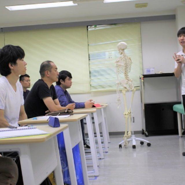 日本医学柔整鍼灸専門学校 教員による柔道整復学科説明会1
