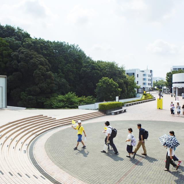 明治学院大学 夏のオープンキャンパス(横浜キャンパス)4