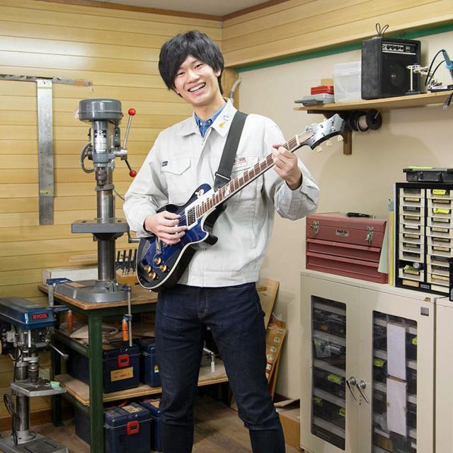 """中部楽器技術専門学校 """"AO対策つき""""オープンキャンパス【ギタークラフトコース】2"""