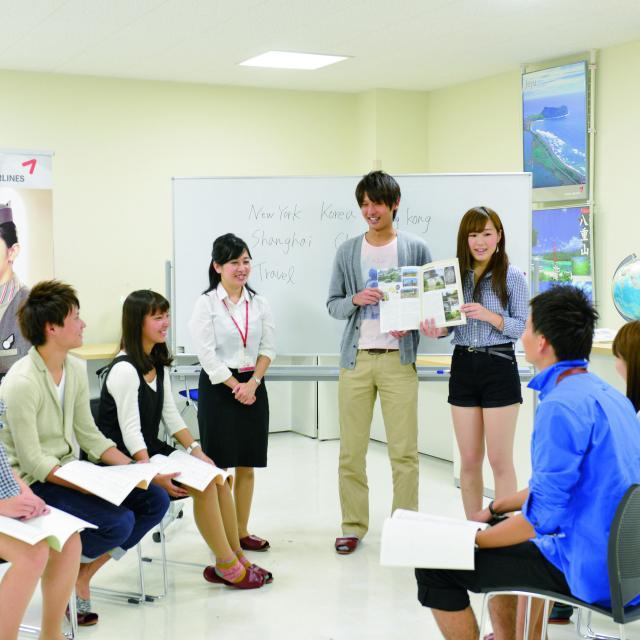 大原簿記情報公務員専門学校水戸校 体験入学☆ホテル・観光系☆1