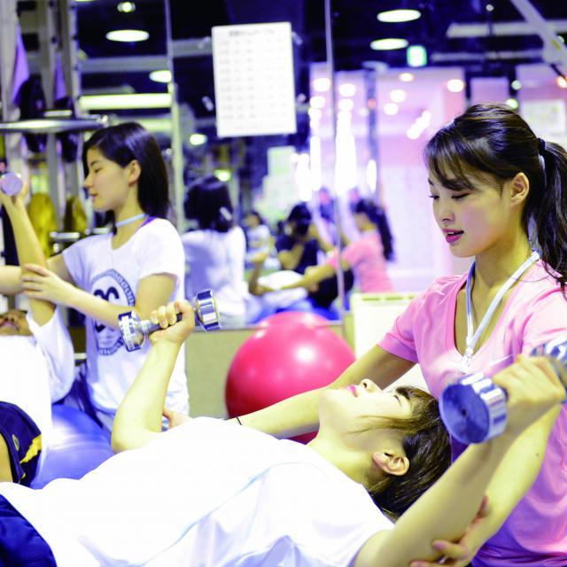 福岡リゾート&スポーツ専門学校 【トレーナー体験】初心者でも安心!身体作りを体験してみよう☆1