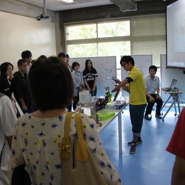 産業技術短期大学 【機械】材料・流体・熱を学びロボットなどの機械エンジニアに2
