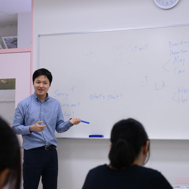 外語ビジネス専門学校 〈英語〉サービスで使われる英語を学ぼう!1