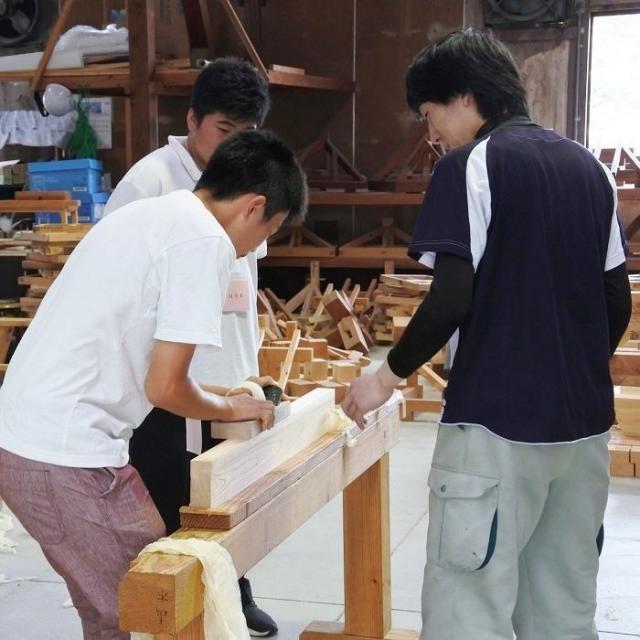 日本建築専門学校 学校見学会3