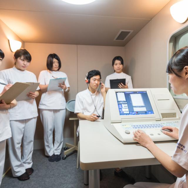 医療専門学校水戸メディカルカレッジ 言語聴覚療法学科オープンキャンパス2