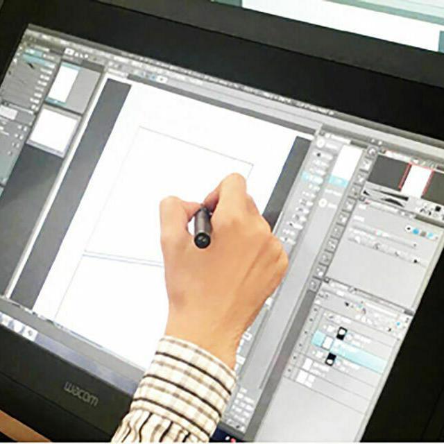 東京デザイナー学院 【デジタルマンガ入門】最新液晶タブレットでマンガを描こう1